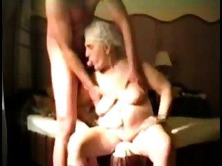 Busty Granny concerning webcam