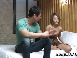 Korean Porn Hot Korean Fondled No Panties!