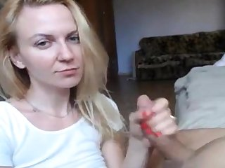 X Invisible b unusual Blonde Hot Blowjob