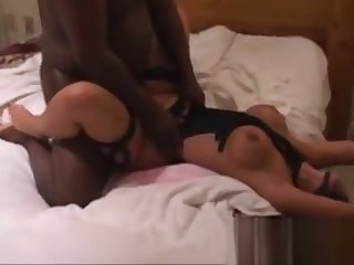 36-submissive catwoman used by 3 black dudes