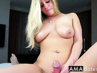 busty amateur foreplay