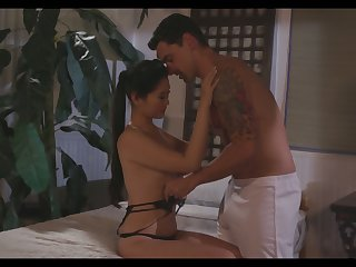 Beautiful spoil Katana designed will not hear of Asian wet pussy for sex-starved sailor