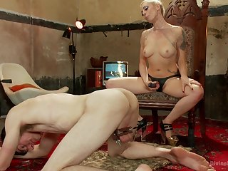Spanking and a strapon sex is Lorelei Lee's idea be fitting of a thorough sex