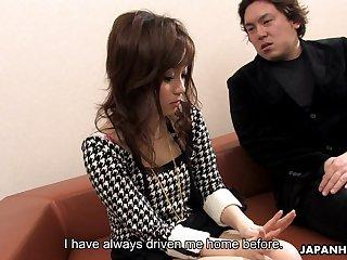 Asian unshaded Rui Yazawa is masturbating hairy pussy regarding drumming shake a leg