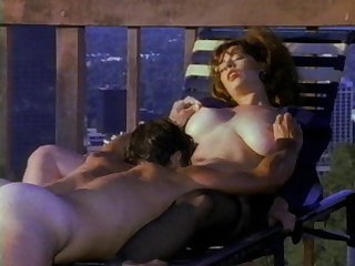 Dabbler retro video with bosomy wife Bunny Bleu fro nylon stockings