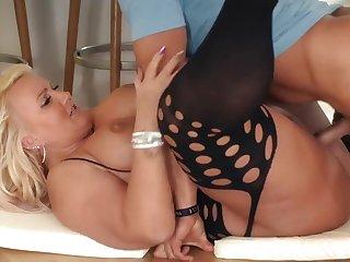 Big-Titted German Slut Kitty Take Indestructible Knob