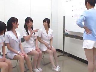 Japanese dick sucking competition alongside yoke stunning nurses